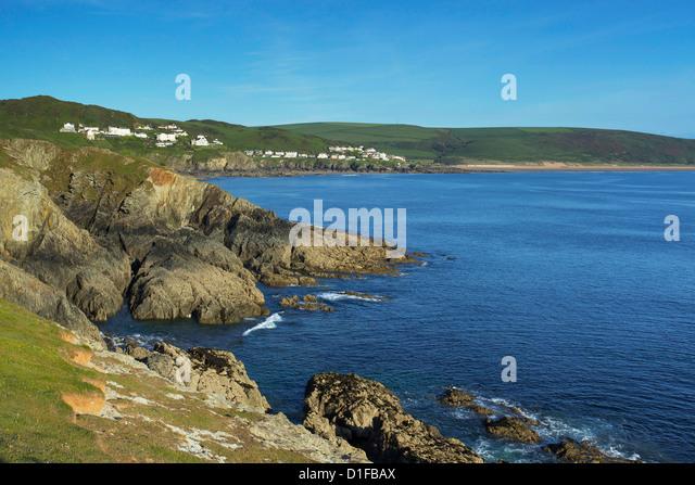 Woolacombe, Devon, England, United Kingdom, Europe - Stock Image