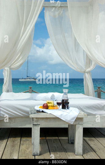 Dominican Republic, Bayahibe, Viva Wyndham Dominicus Beach - Stock Image