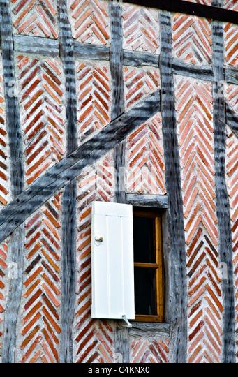 Old wall,Azay le Rideau,Loire Valley, France - Stock-Bilder