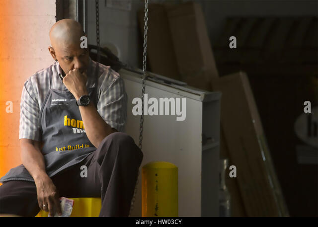 THE EQUALIZER 2014 Columbia Pictures film with Denzel Washington - Stock-Bilder