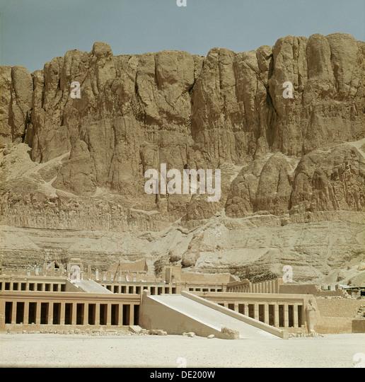 Funerary Temple Queen Hatshepsut Deir El Bahari Stock ...