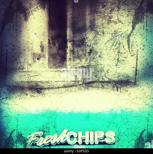 Chips grunge - Stock-Bilder