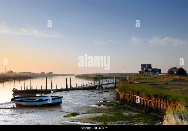 Estuary Dawn - Stock Image