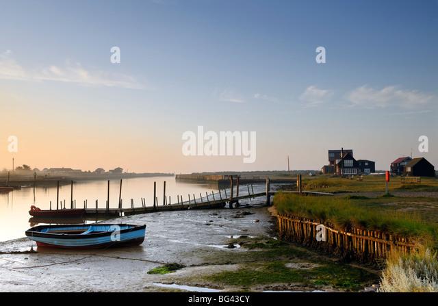 Estuary Dawn - Stock Image