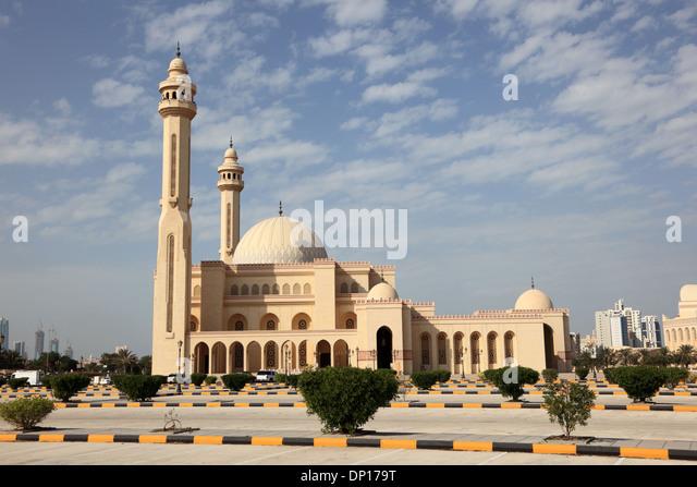 Al Fateh Grand Mosque in Manama, Bahrain - Stock Image