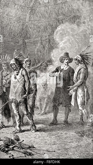the war between the puritans and the pequot indians in 1637 Colonial america: the pequot war (1637–1638) was a conflict between the pequot tribe and the english colonists of the massachusetts bay, plymouth, and saybrook.
