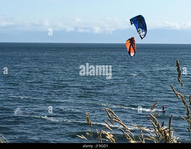 Wind surfing - Stock Image