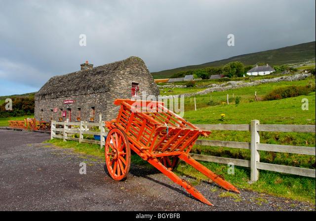 Dingle Peninsula country, Ireland - Stock Image