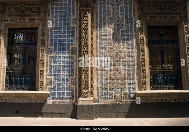 Casa de los azulejos mexico city stock photos casa de for Casa de los azulejos centro historico
