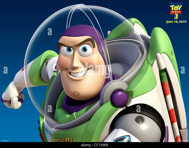 BUZZ LIGHTYEAR TOY STORY 3 (2010) - Stock Image