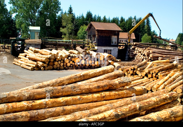 Lumber mill stock photos lumber mill stock images alamy for Mill log