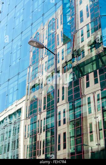 city London finance architecture modern UK - Stock Image