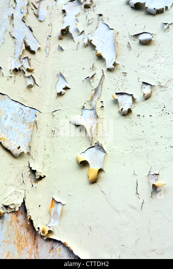Flaking paint on building background. - Stock-Bilder