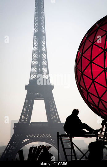 Eiffel Tower. Paris, France. - Stock-Bilder