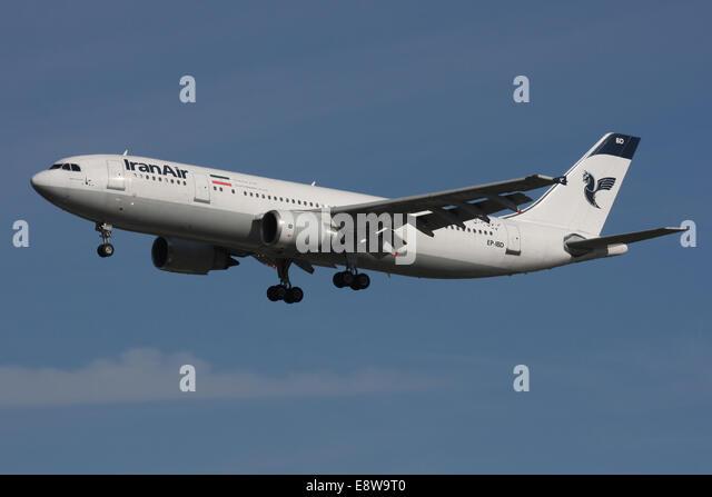 IRAN AIR A300 - Stock Image