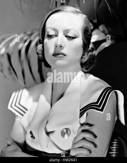 JOAN CRAWFORD (c 1904-1977) US film actress about 1932 - Stock-Bilder