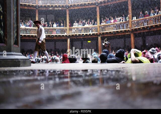 how to make it rain in theatre
