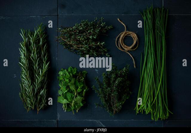 multi herbs - Stock Image
