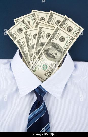Shirt and Dollar, Business Concept - Stock-Bilder