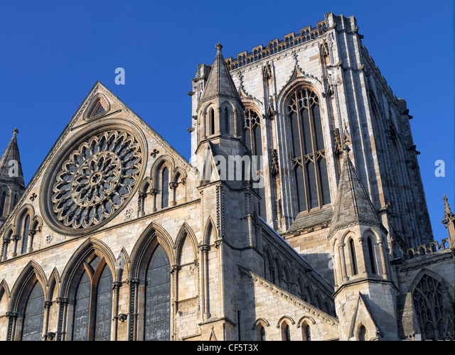 North transept rose window stock photos north transept for Rose window york minster