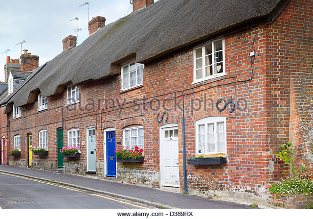Red brick terraced cottage stock photos red brick for 6 the terrace walberswick