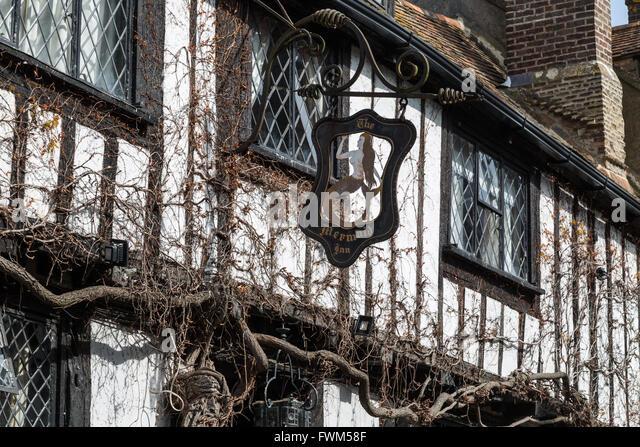Mermaid Inn, Mermaid Street, Rye, East Sussex - Stock Image