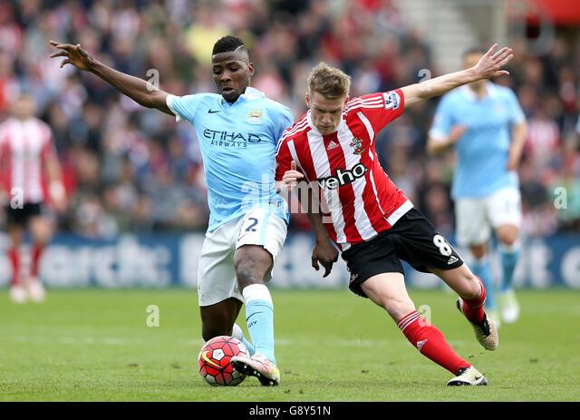 Southampton v Manchester City - Barclays Premier League - St Marys - Stock-Bilder