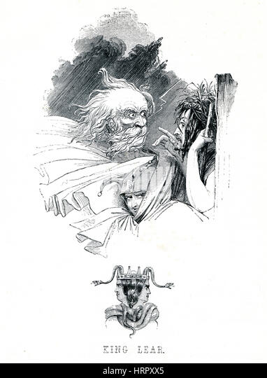 the illustration of the transformation of lear in william shakespeares king lear Illustrations 1 and 2 are reproduced by permission of the syndics of cambridge  uni-  e k chambers, william shakespeare: a study of facts and  ical  metaphor in king lear, 'a mind-transforming event that culminates in.