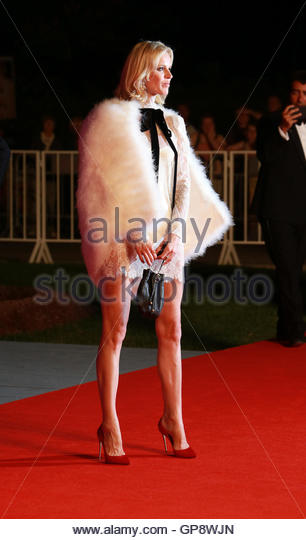 Venice, Italy. 02 September, 2016.Eva Herzigova attends the premiere of 'Franca: Chaos And Creation' during - Stock Image