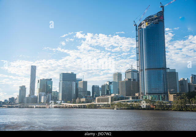 The Central business district of Brisbane, Queensland, Australia, Pacific - Stock Image