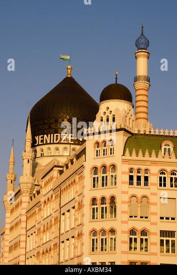 Dresden Saxony Yenidze mosque former tabacco factory facade - Stock Image