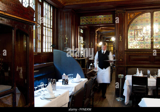 The historic Brasserie Flo Paris France - Stock Image