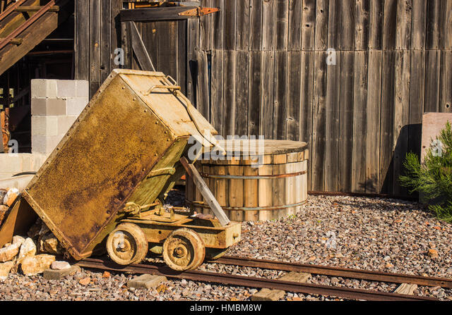 Ore cart stock photos images alamy
