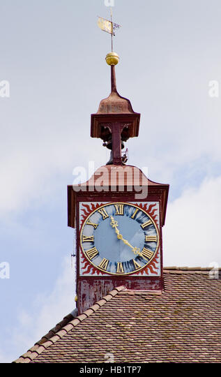 Townhall tower Stein am Rhein - Stock-Bilder