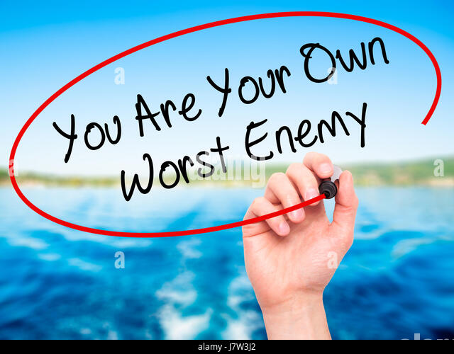 Man is his own worst enemy?