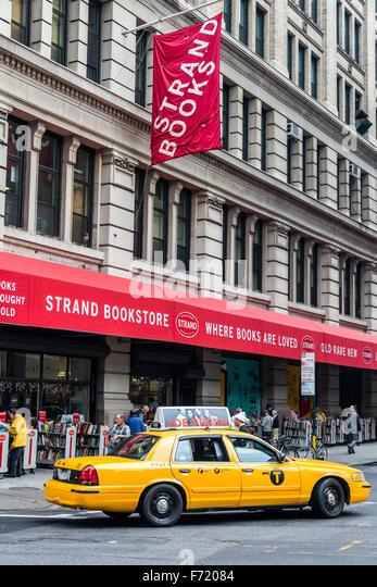 Strand Bookstore, East Village, Manhattan, New York, USA - Stock Image
