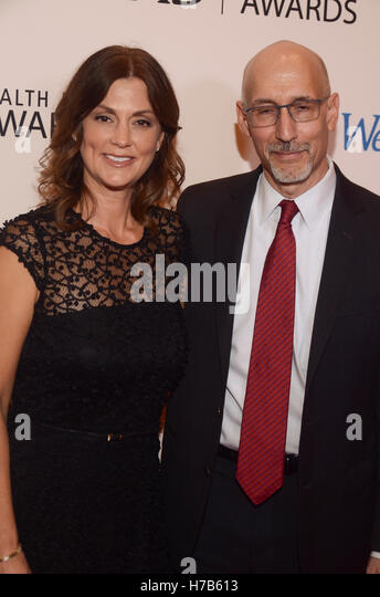 New York, NY, USA. 3rd Nov, 2016. WebMD Executives, Kristy Hammam and Steve Zatz, MD, CEO attend the WebMD Health - Stock Image