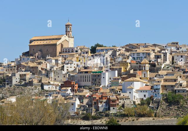 Cehegín, Murcia, Spain - Stock Image