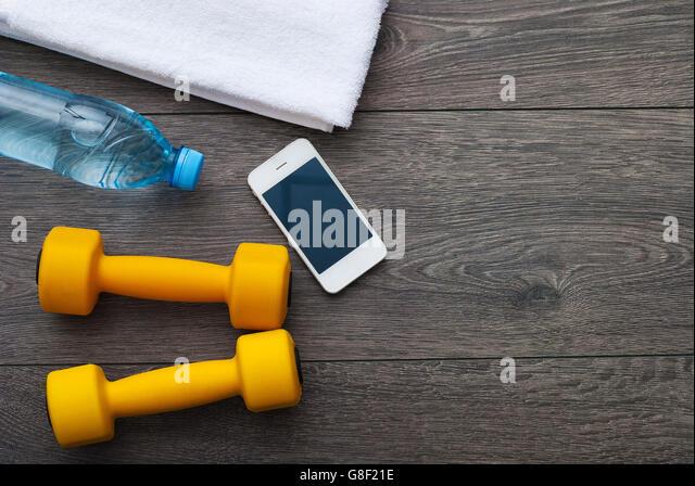 Outfit for hard training - Stock-Bilder
