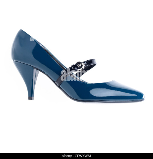 A still life shot of a pair of womens shoes - Stock Image