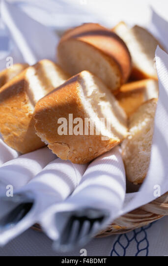 basket bread catalogue 2 close-up color image cutlery food food and drink household utensils Swedish catalogue 4 - Stock-Bilder
