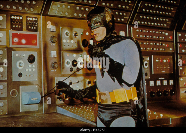 BATMAN (TV) ADAM WEST - Stock Image
