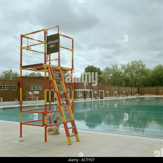 Lifeguard Pool Uk Stock Photos Lifeguard Pool Uk Stock Images Alamy