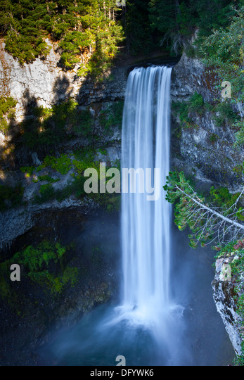 Brandywine Falls, near Whistler, British Columbia, Canada - Stock Image