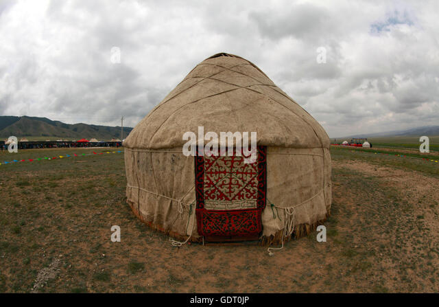Hami, Hami, China. 16th July, 2016. Hami, China - July 16 2016: (EDITORIAL USE ONLY. CHINA OUT) Kazakh people live - Stock Image