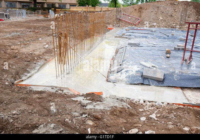 Concrete Foundation Stock Photos Concrete Foundation