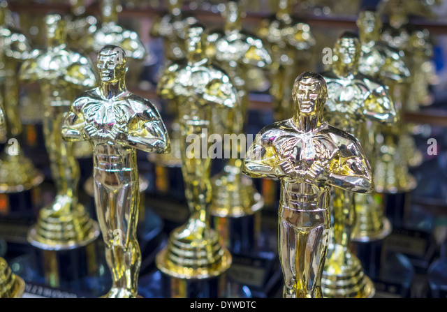 California CA LA Los Angeles Hollywood Boulevard movie industry Hollywood Walk of Fame business shopping gift shop - Stock Image