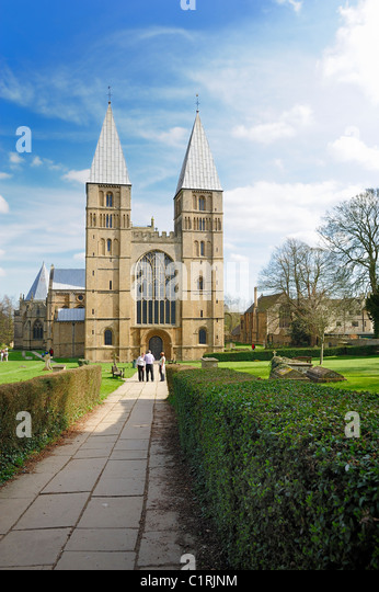 southwell minster Nottingham england uk - Stock Image