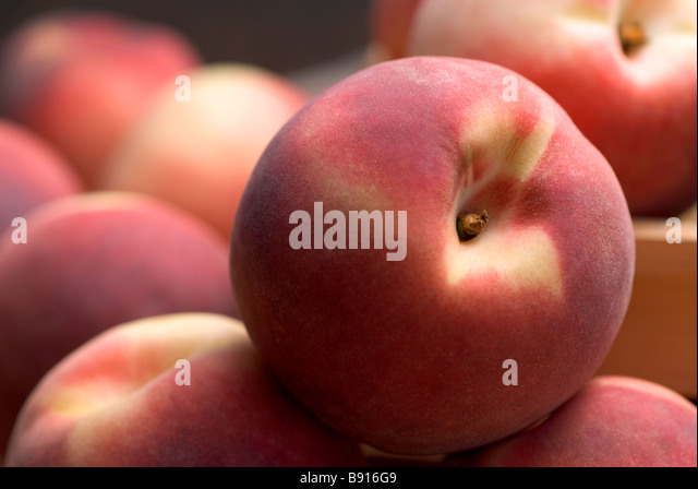 Peaches - Stock Image