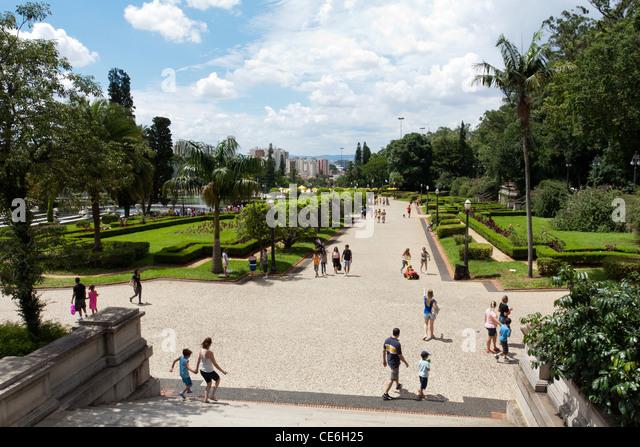 Parque da Independencia (Independence Park), Ipiranga, Sao Paulo, Brazil - Stock Image
